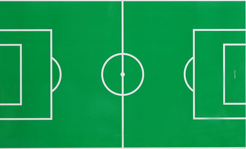 Paper Sheet Cardboard Under Glass for Soccer Table