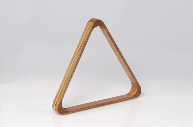 Триъгълник за билярд, дървен