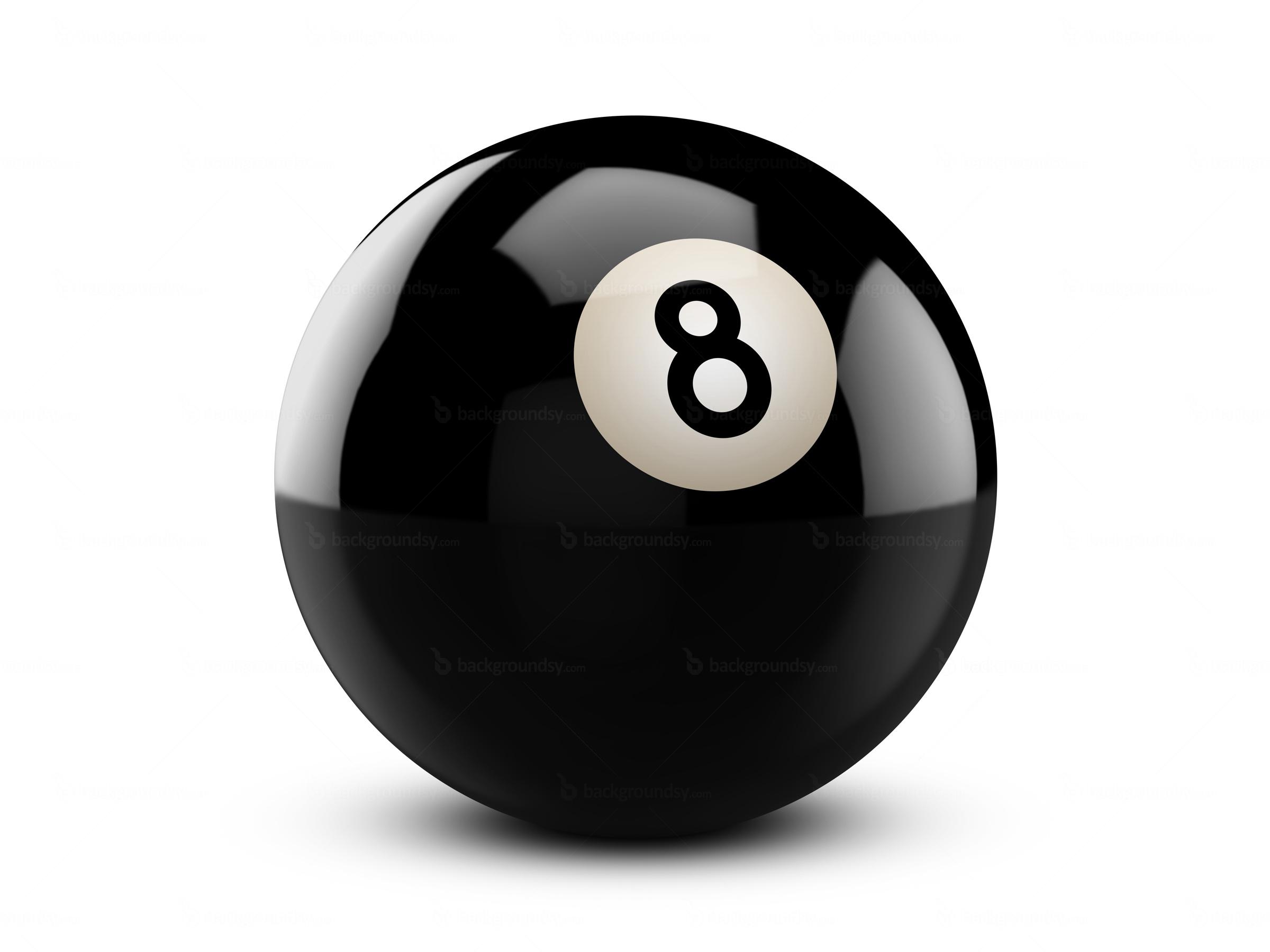 Топка за билярд номер 8 ,черна , Aramith , Crazy ball