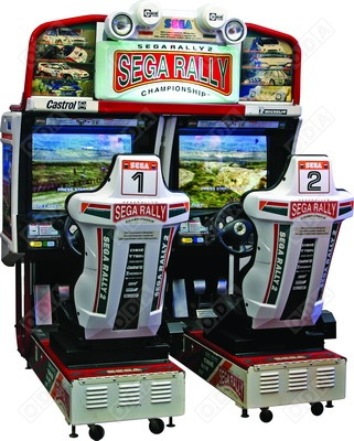 SEGA RALLY 2 TWIN
