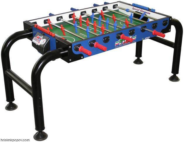 SPECIAL CHAMPION (Soccer Table for People with Disabled Access)